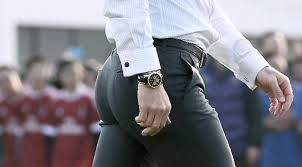David Beckham's callipygian buttocks